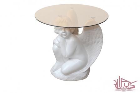 """журн стол """"Ангел"""" белый"""